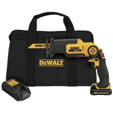 DeWalt 12V MAX Li-Ion Pivot Reciprocating Saw Kit