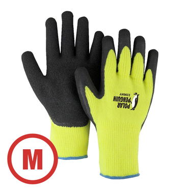 Polar Penguin Hi-Vis Lined Glove Medium - 12 Pairs Per Bag