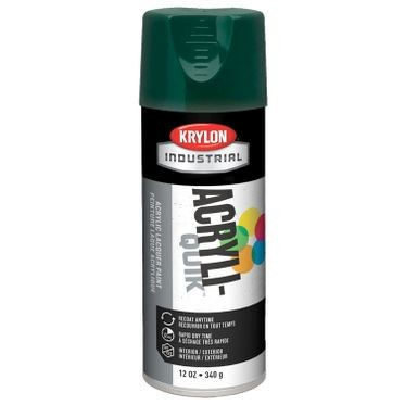Krylon Acryli-Quik Spray Paint Hunter Green 12 Fluid Ounces