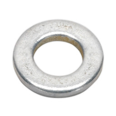 M10 Zinc Plated Flat Washer DIN 125A Grade 200HV Carbon Steel