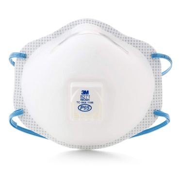 3M Particulate Respirator with Valve P95 (10 Per Box)