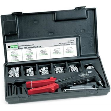Marson Aluminum Thread-Sert Kit with Installation Tool