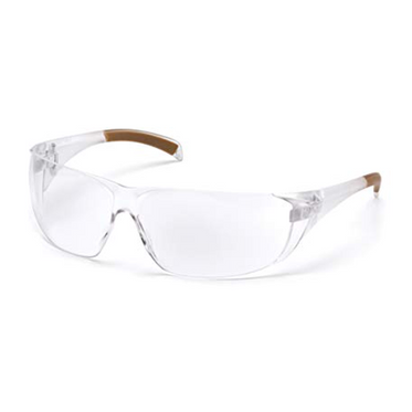 Carhartt Billings Clear Lens & Frame Safety Glasses - 12 Pair Per Box