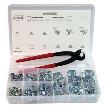 Zinc Plated Oetiker 2-Ear Clamp Assortment