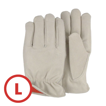 Premium Pigskin Lined Drivers Glove Large