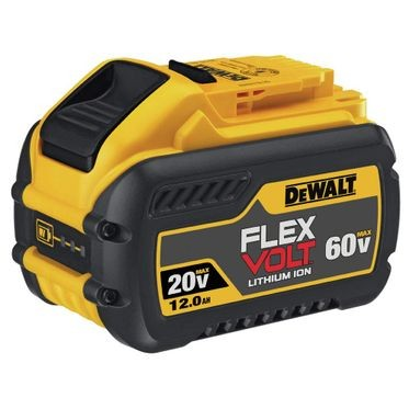 DeWalt FLEXVOLT™ 20/60V 12.0 AH Battery (1 Per Pack)