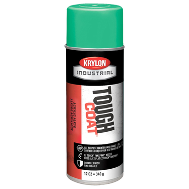 Krylon Tough Coat Spray Paint OSHA Green 12 Fluid Ounces