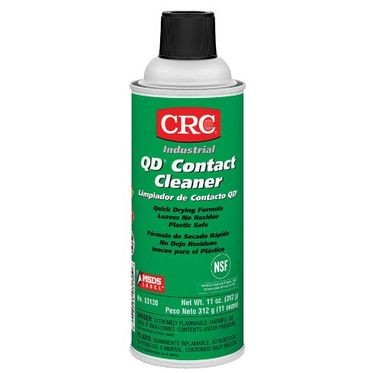 CRC QD Industrial Contact Cleaner 11 Fluid Ounces