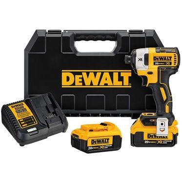 DeWalt 20V MAX XR 3-Speed 1/4