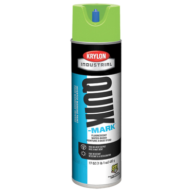 Krylon Quik-Mark Upside Down Marking Paint Fluorescent Green 17 Fluid Ounces