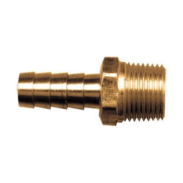Brass Hose Barb Coupler 1/2