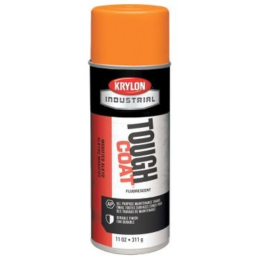 Krylon Tough Coat Spray Paint Fluorescent Orange 12 Fluid Ounces