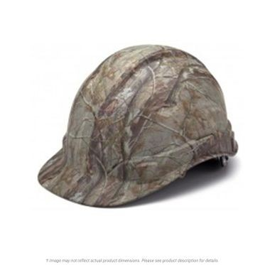 Camouflage Pattern 4-Point Ridgeline Cap Hard Hat