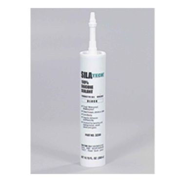 Silatech Black RTV Silicone 300 ml Cartridge