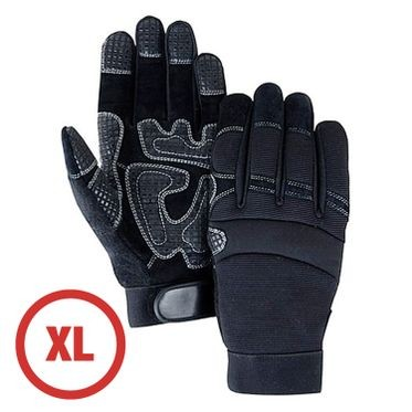 Mechanics Style Padded Palm Glove XL