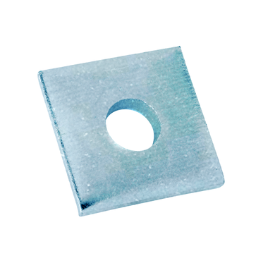 Zinc Plated Square Washer 1/4