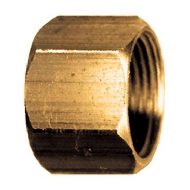 Brass Standard Compression Nut 5/8