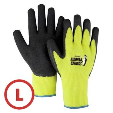 Summer Penguin Hi-Vis Knit Glove Large