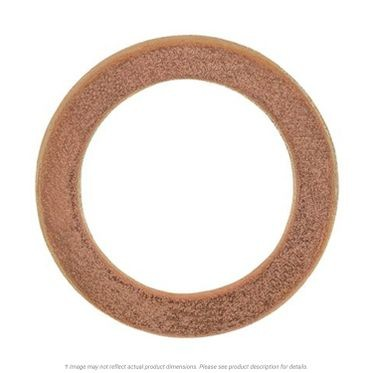Copper Drain Plug Gasket 18mm x 26mm Outer Diameter, 10 per Box