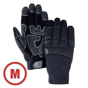 Mechanics Style Padded Palm Glove Medium