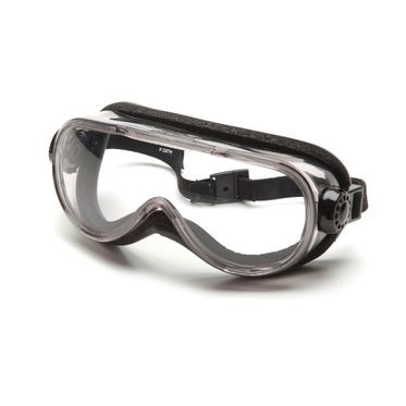 Pyramex G404T Chemical Splash Anti-Fog Clear Lens Goggles
