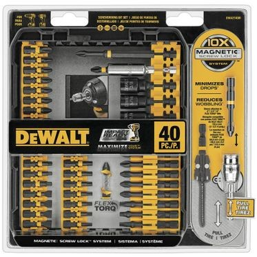 DeWalt FlexTorq Screwdriving Set - 40 Pieces