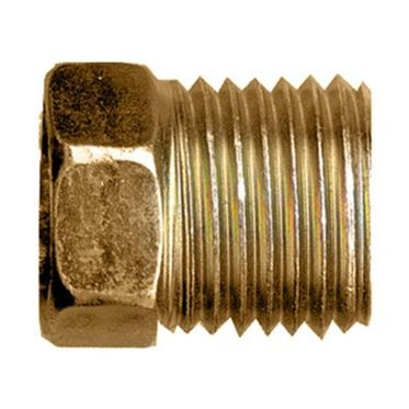 Brass Nut Inverted Flare 1/4