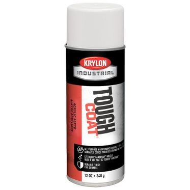 Krylon Tough Coat Spray Paint OSHA White 12 Fluid Ounces