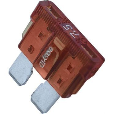 Brown BladE-Type Fuse 7.5 Amp, 5 per Box