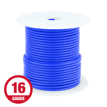 Primary Wire 16 Gauge Blue 100' Spool