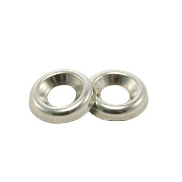 #4 Stainless Steel Countersunk Finish Washer 18-8