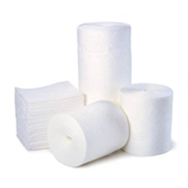 White Oil-Only Single Weight Absorbent Pad