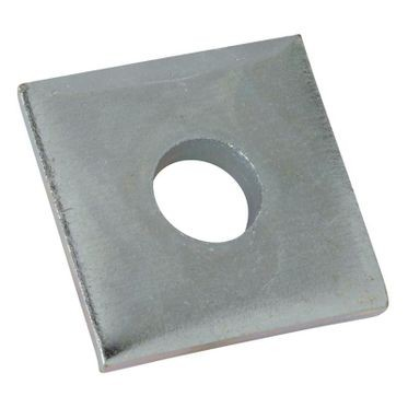 Stainless Steel Square Washer 3/8