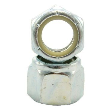 #5-40 Zinc Plated Nylon Insert Lock Nut