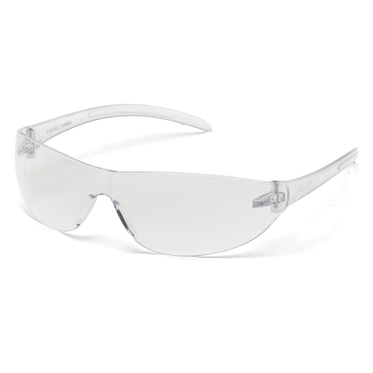 Alair Clear Lens & Frame Safety Glasses