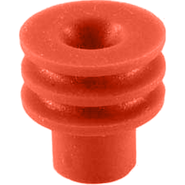 Red Weatherpack Cable Seal 24-22 Gauge