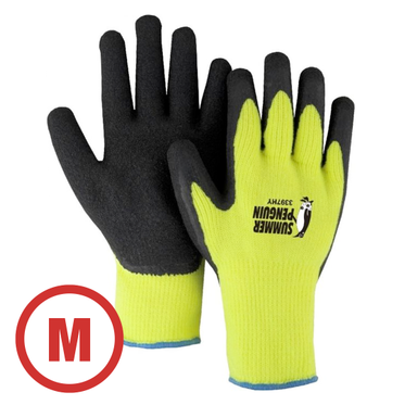 Summer Penguin Hi-Vis Knit Glove Medium