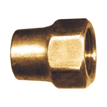Long Flare Nut Forged Brass 3/8
