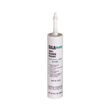 Silatech Clear RTV Silicone 300ml Cartridge