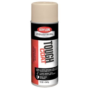 Krylon Tough Coat Spray Paint Light Beige 12 Fluid Ounces