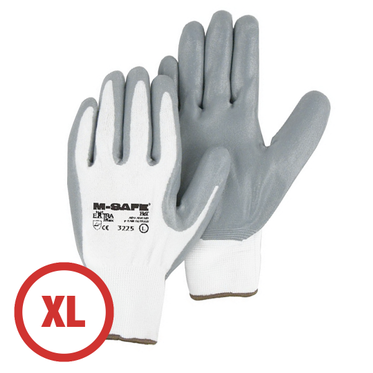 Foamed Nitrile Palm Coated Glove XL - 12 Pairs Per Bag