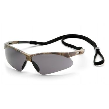 PMXTREME Anti-Fog Gray Lens/Camouflage Frame Safety Glasses