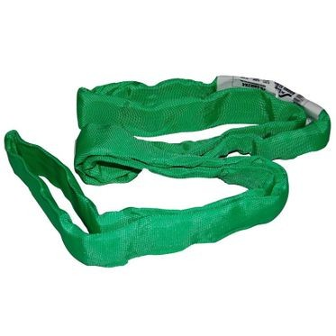Liftex 4' Endless Round Sling Green