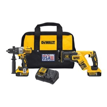 DeWalt 20V Max Hammer & Recip Saw Kit