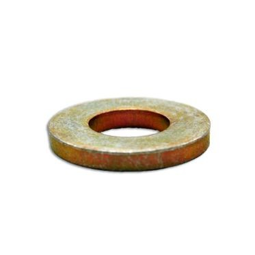 9/16 Yellow Zinc SAE Extra Thick Flat Washer Thru-Hardened (Grade 8)