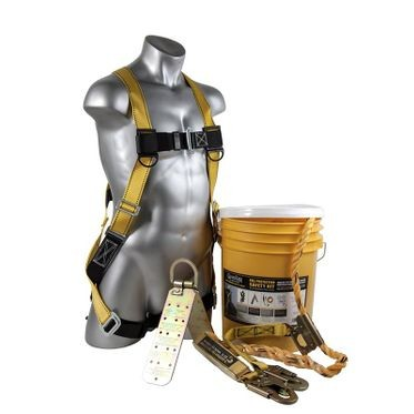 Fall Protection Kit in a Bucket