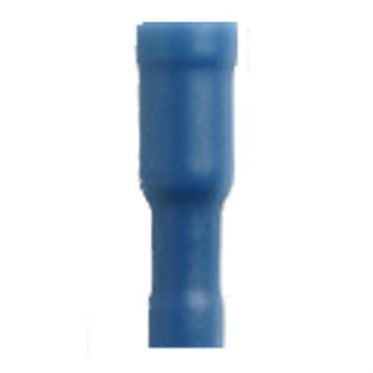 Nylon Snap Plug Receptacle Blue 16-14 AWG - 0.156