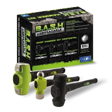 Wilton 3 Piece B.A.S.H Shop Hammer Kit