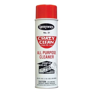 Sprayway Crazy Clean Cleaner 19 Fluid Ounces