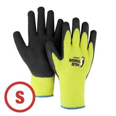 Polar Penguin Hi-Vis Lined Glove Small - 12 Pairs Per Bag